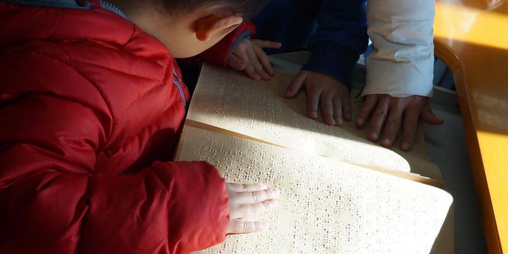 触摸这个世界 与视障儿童共读一本书