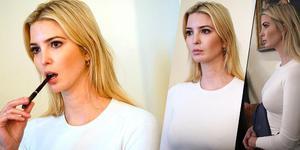 特朗普女儿伊万卡连咬笔的样子都美呆了
