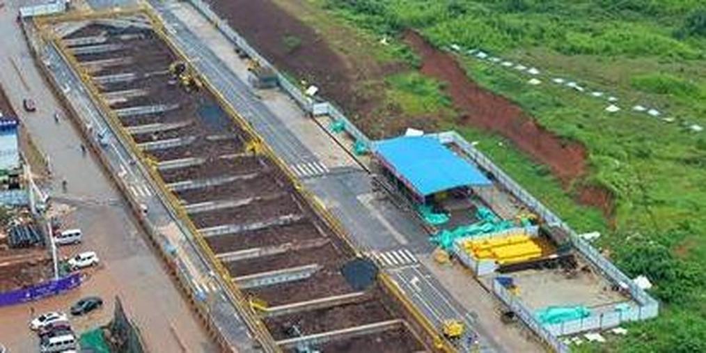 南昌地铁4号线礼庄山站计划明年3月结构封顶