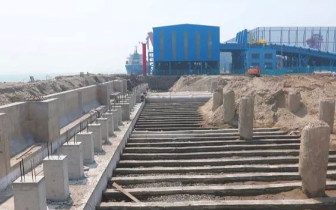 曹妃甸港区煤码头三期工程计划年底进入试运行