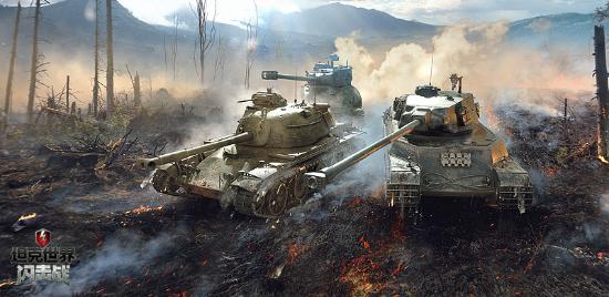 """""""M系狂欢日""""活动酷暑一夏 《坦克世界闪击战》迎来5.0大版本"""
