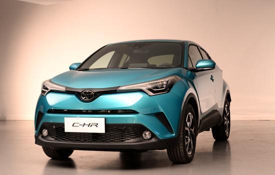 全新架构/全新动力 丰田C-HR现已上市