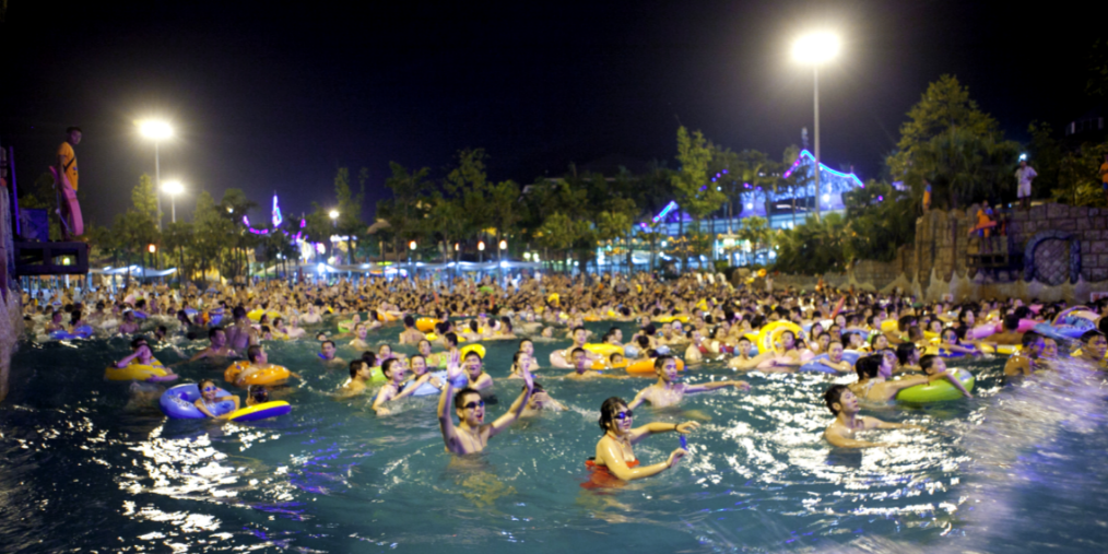 加勒比海荧光炫舞派对 6月22日盛大启幕