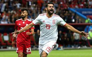 科斯塔破门 西班牙1-0伊朗