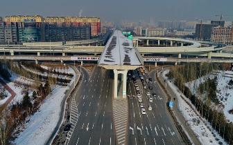 胜利|胜利大街快速路建设工程北段转体桥施