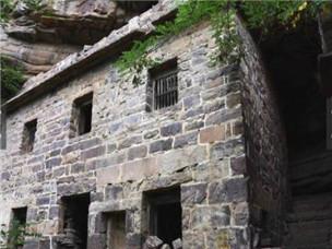 一户人家的悬崖山村