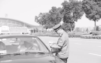 临汾市城市客运管理处 打击非法运营车辆