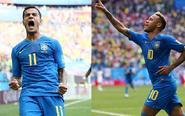 刺激!补时2连击 巴西2-0