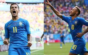 库鸟内马尔补时两连击 巴西2-0获首胜