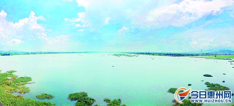 惠州全力推进潼湖智慧区生态文明建设