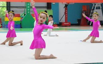 2018石市第十八届幼儿体操选拔赛圆满举行