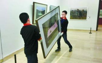 """""""李鬼""""混进国家级画展太尴尬 抄袭作品被撤下"""