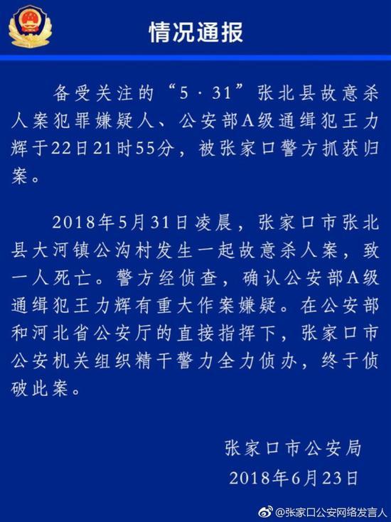 公安部A级通缉犯王力辉是不是不能有太多毛绒玩具落网:十年间在多地杀害6人