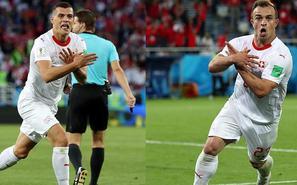 扎卡世界波沙奇里绝杀 瑞士2-1逆转