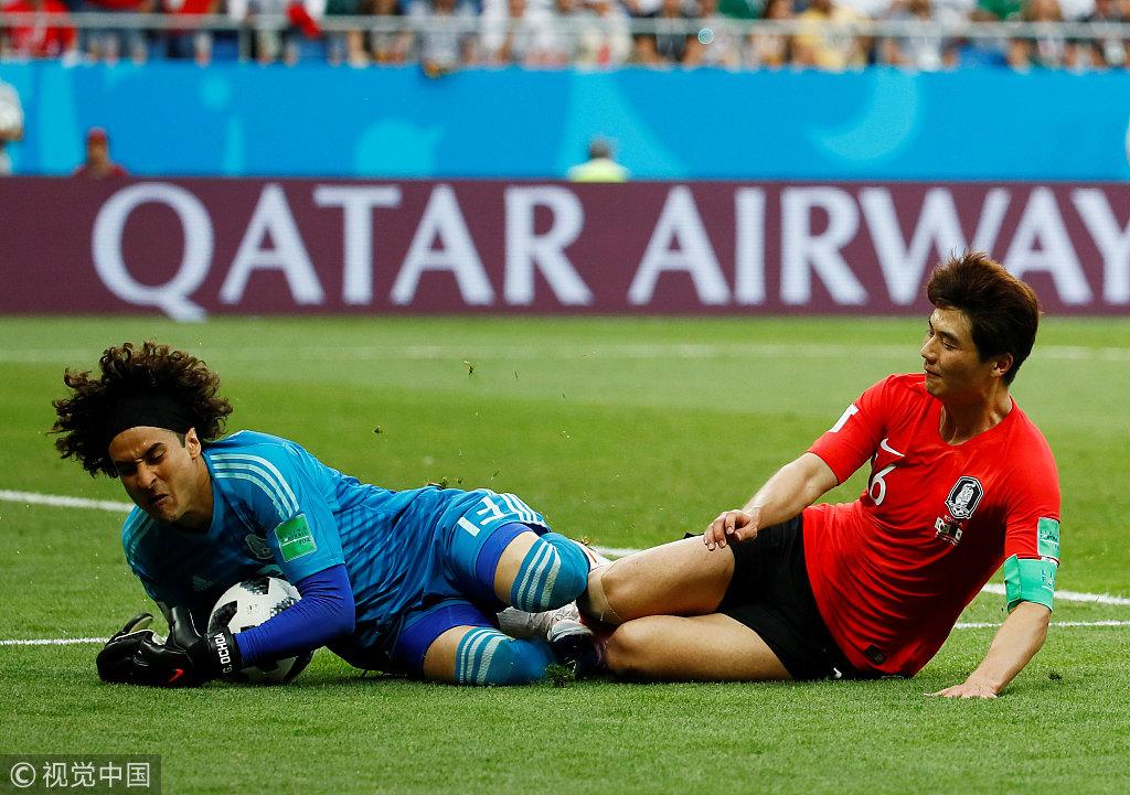韩国世界杯不是去踢球,而是去踢人了?几乎全队人都得黄牌