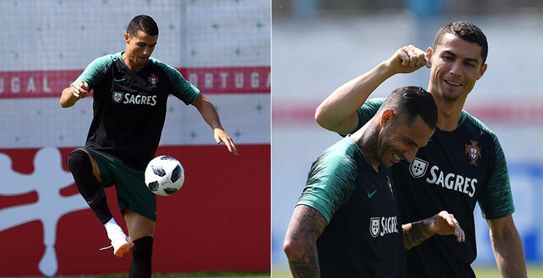 葡萄牙训练大佬C罗点拨夸雷斯马