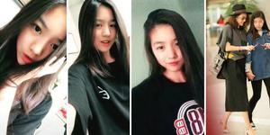 汪峰13岁女儿清秀可人 颜值不输章子怡