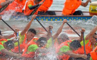 省运会群众比赛龙舟项目23日开赛 福州首日夺四金