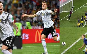 太刺激!克罗斯读秒绝杀 德国2-1瑞典