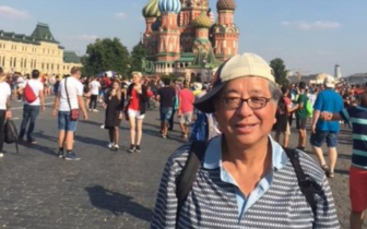 美国华人莫斯科观看世界杯 分享激情难忘经历