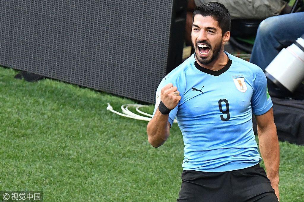 世界杯-戈洛文PK苏亚雷斯 俄罗斯力擒乌拉圭?