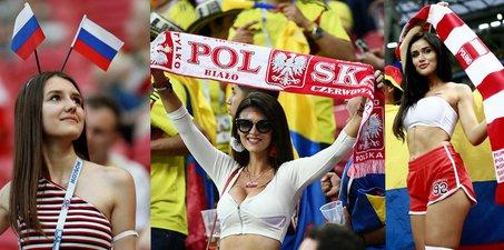 东欧美女世界杯看台斗艳 清纯性感你pick哪款