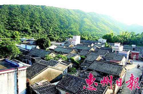 惠东县黄埠镇西冲村古味浓 环境舒适旅游旺