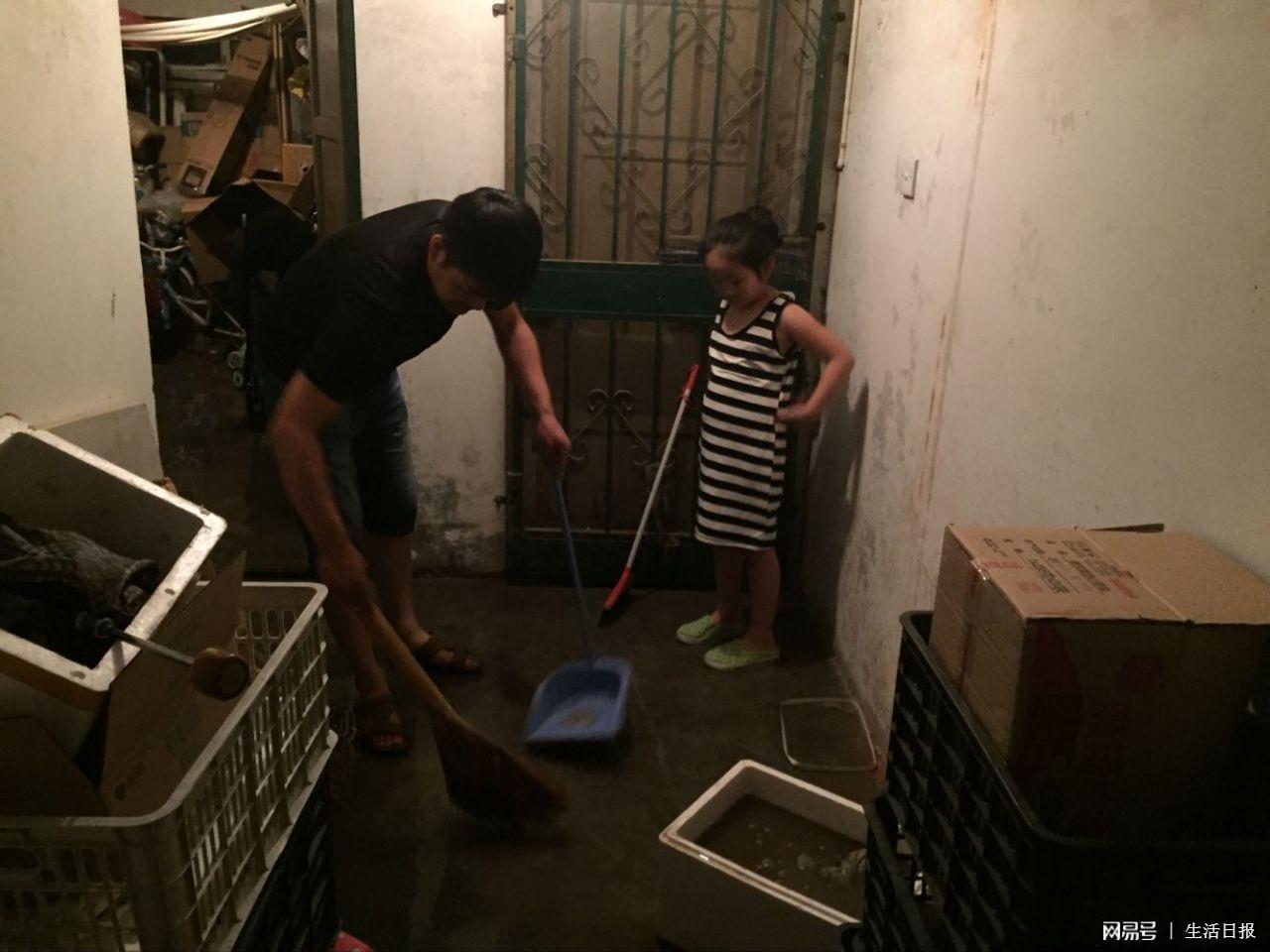 闹水灾!强降雨导致科苑小区12户地下室进水