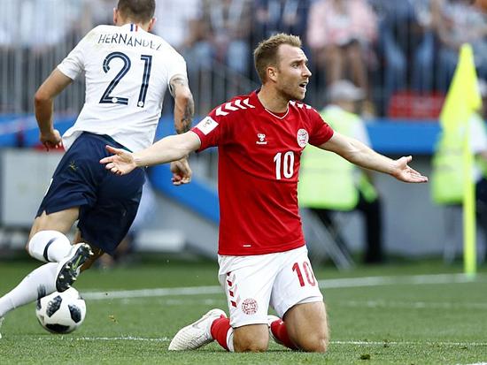 埃里克森:跟法国踢得确实挺无聊 我向球迷道歉