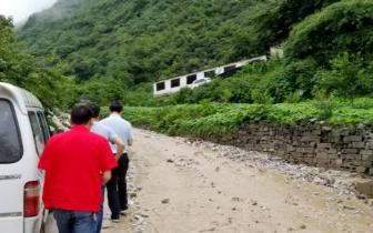 雅安、峨眉山村庄发生地质灾害 80人成功避险无一伤亡