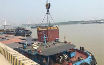 蚌埠市水运集装箱吞吐量大幅度增长