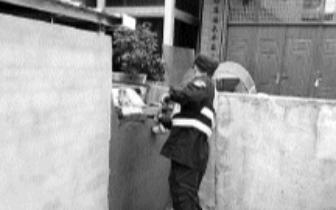 村民在公共通道砌砖违建 连江马鼻镇立即拆除