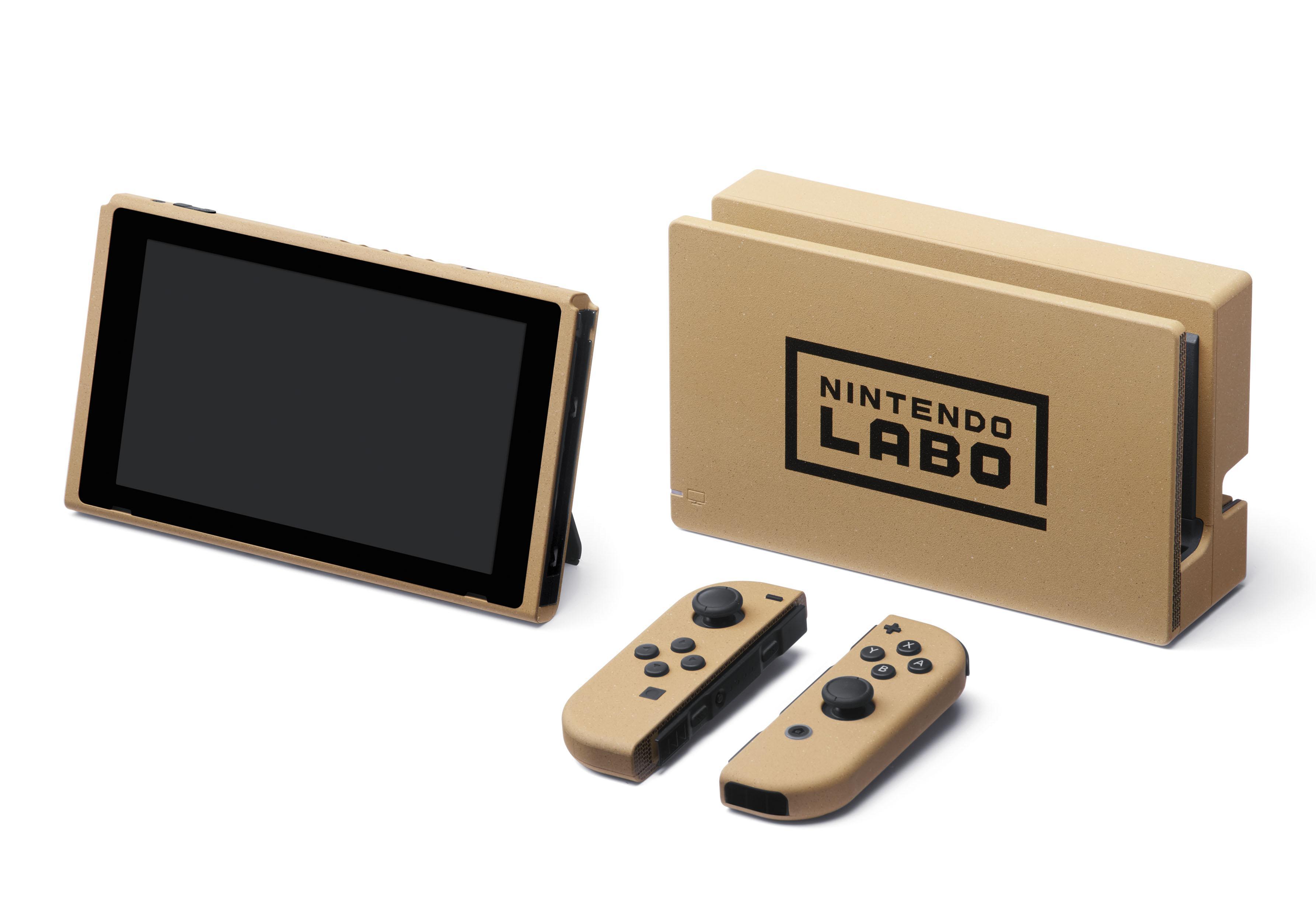 任天堂公开特制Switch 将授予LABO创意大赛获奖者