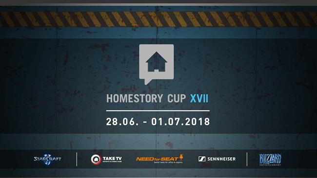 星际2:HomeStory CupXVII宅男杯比分对阵