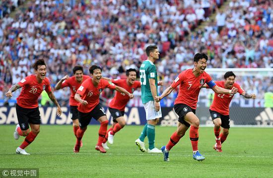 韩国人吹一辈子!他们赢了德国!小组出局又如何!