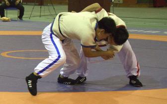摔跤吧,青少年!省运会中国式摔跤比赛落幕