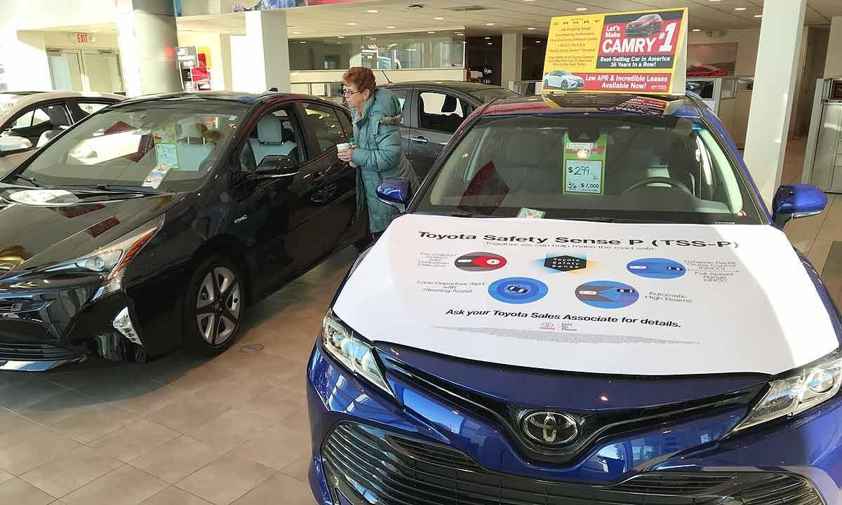 丰田讨伐美汽车进口关税 凯美瑞成本或增1800美元
