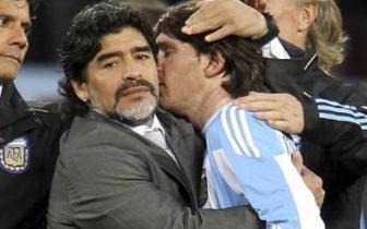 在阿根廷,梅西和老马影响力差多少?传奇锋霸:根本比不了
