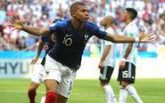 姆巴佩2球 法国4-3阿根廷