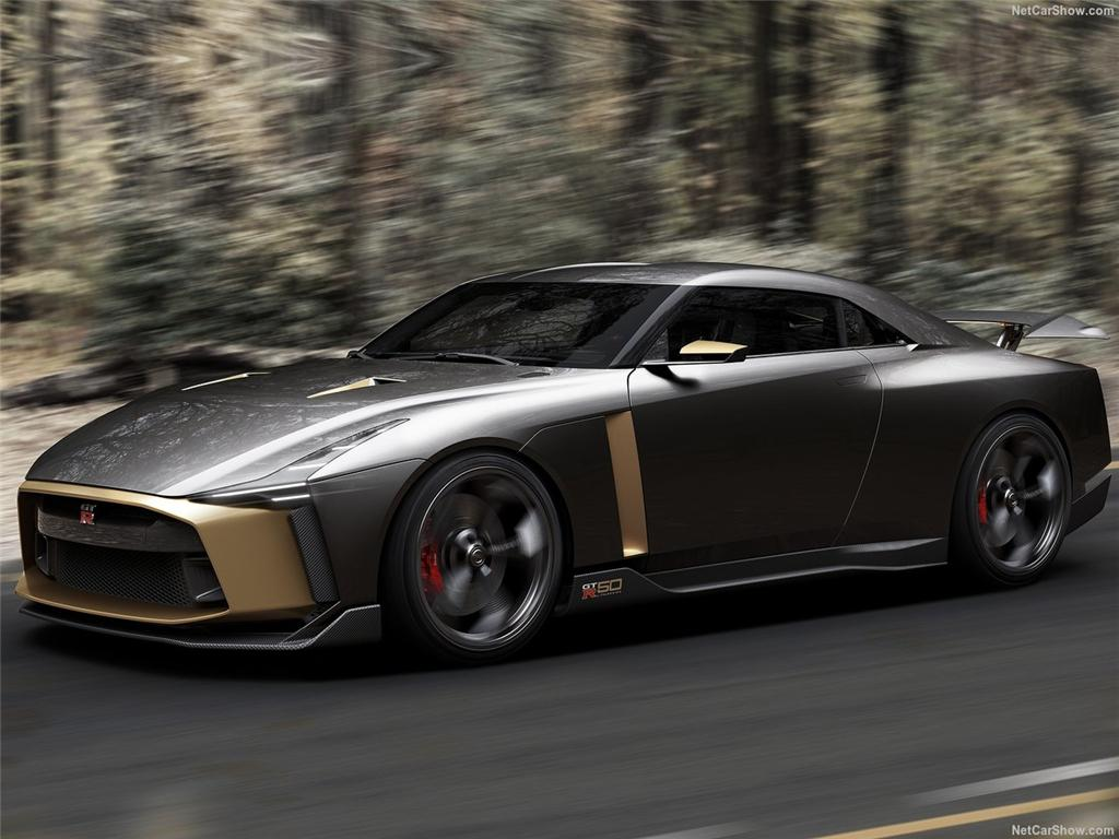 最牵动人心的玩票 GT-R50概念车官图发布