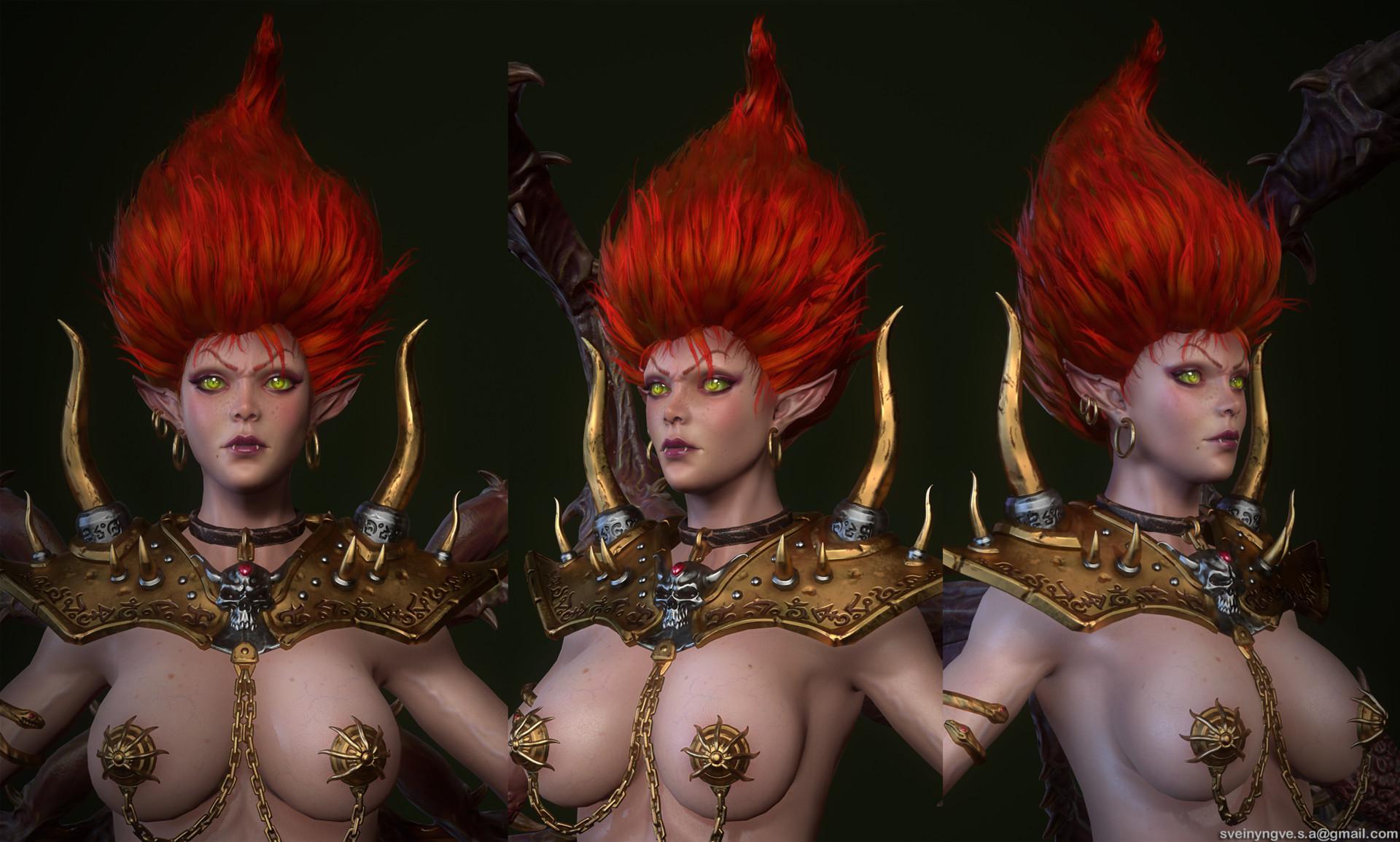 《暗黑II》角色设计师:安达利尔最初并非是裸体的