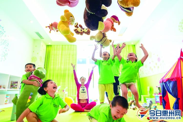 惠州加大学前教育发展力度 每年新增幼儿园60所以上