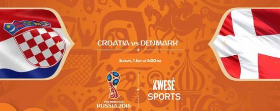克罗地亚vs丹麦首发:顶级中场PK 曼朱基齐单箭头