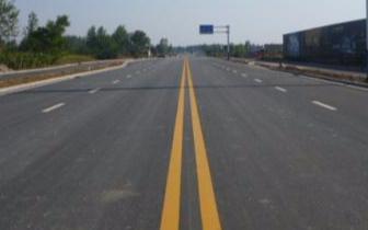 古冶外环线道路修复工程竣工 车辆实现正常通行