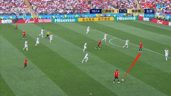 若不是西班牙这令人捧腹的一幕 他们有机会终结比赛