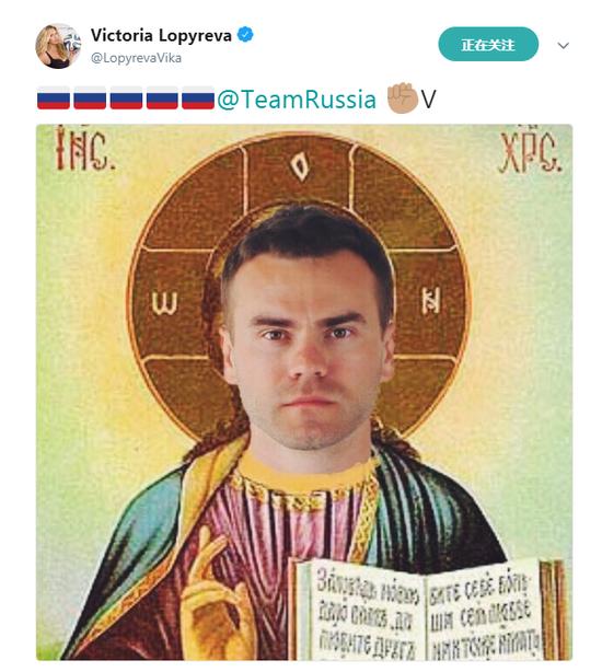 民族英雄阿金费耶夫!世界杯美女大使称赞:你就是上帝!