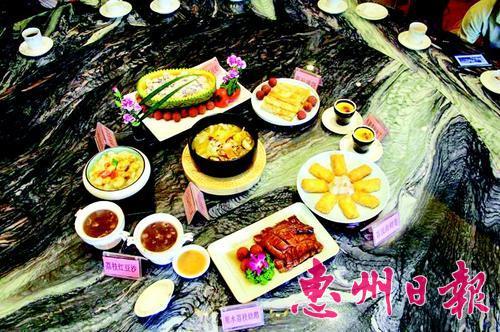 惠阳多家星级酒店和农庄推出的荔枝菜 深受欢迎