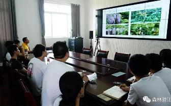 潜江市林业局组织开展园林绿化知识讲座