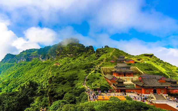 梵净山申遗成功,贵州的世界遗产已经有五个