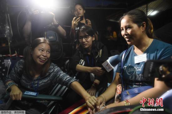 泰国失踪足球队被找到 泰总理感谢救援人员